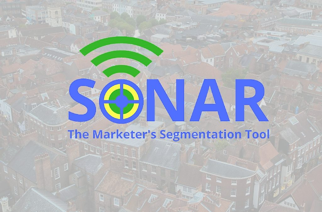 SONAR, marketing segmentation, customer segmentation, geodemographic profiling system, profiling, segmentation, marketing segmentation tool,