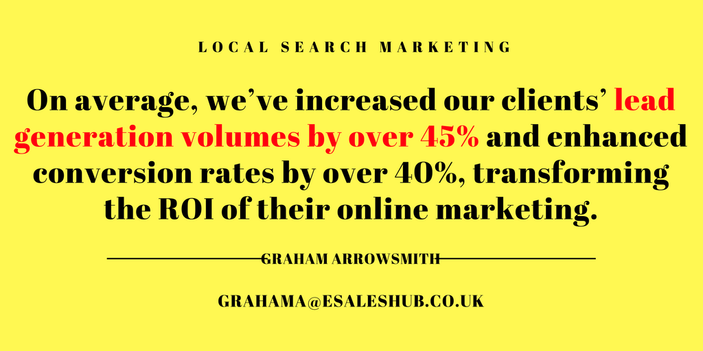 Local Search Marketing for Multi-site Businesses