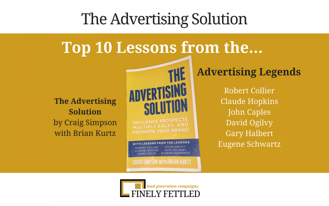 Top 10 Advertising Lessons